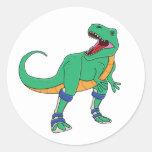 Pegatinas de Dino AFO