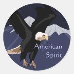 Pegatinas de Eagle calvo