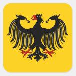 Pegatinas de Eagle del alemán Calcomania Cuadradas Personalizadas