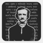 Pegatinas de Edgar Allan Poe