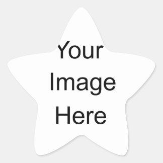 Pegatinas de encargo calcomanía forma de estrella