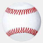 Pegatinas de encargo del béisbol