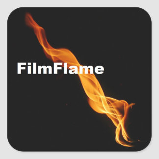 Pegatinas de FilmFlame Pegatina Cuadrada