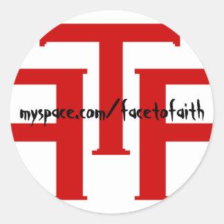 Pegatinas de FTF Pegatina Redonda