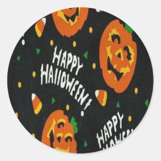 Pegatinas de Halloween Etiquetas Redondas
