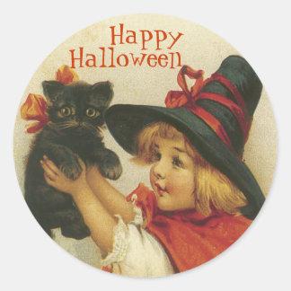 Pegatinas de Halloween del Victorian