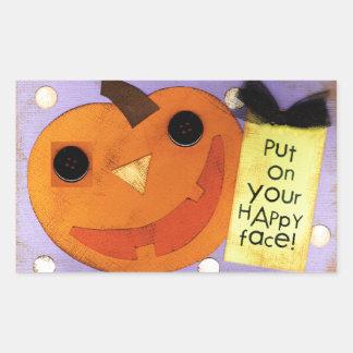 Pegatinas de Halloween Pegatina Rectangular
