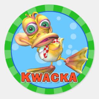 Pegatinas de Kwacka de la diversión