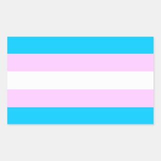 Pegatinas de la bandera del orgullo del transporte