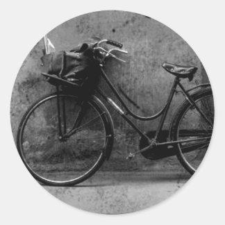 Pegatinas de la bicicleta pegatina redonda