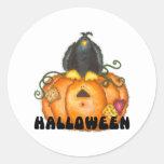 Pegatinas de la calabaza de Halloween