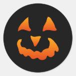 Pegatinas de la calabaza de Halloween (20 pequeños