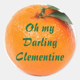 pegatinas de la clementina