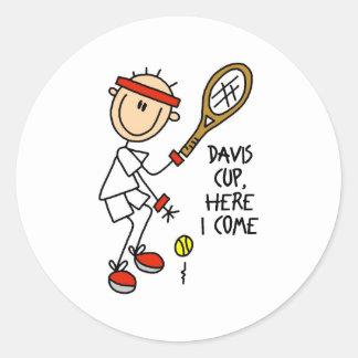 Pegatinas de la Copa Davis