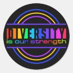 Pegatinas de la diversidad