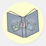 Pegatinas de la diversión del libro de bloques de