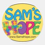 Pegatinas de la esperanza de Sam's