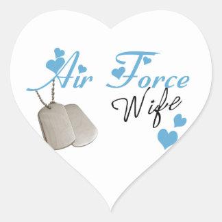Pegatinas de la esposa de la fuerza aérea