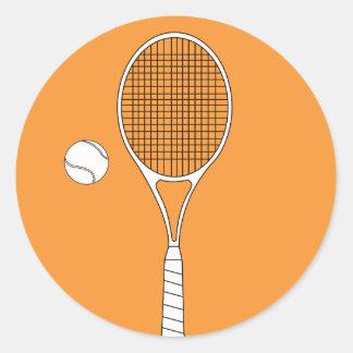 Pegatinas de la estafa y de la bola de tenis