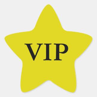 Pegatinas de la estrella del VIP Pegatina En Forma De Estrella