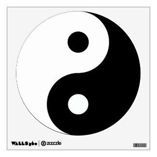 Pegatinas de la etiqueta de la pared de Yin Yang