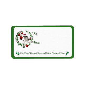 Pegatinas de la etiqueta del regalo de los deseos etiqueta de dirección