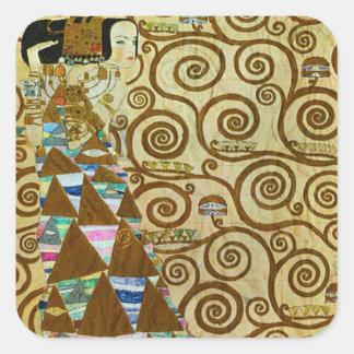Pegatinas de la expectativa de Gustavo Klimt