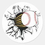 Pegatinas de la explosión del béisbol