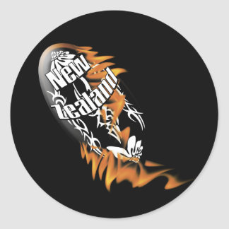 Pegatinas de la fan de los partidarios del rugbi pegatina redonda