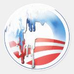 Pegatinas de la fusión de Obama