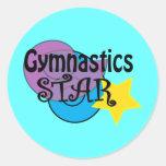 Pegatinas de la gimnasia para los gimnastas
