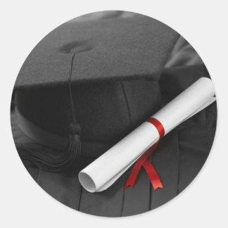Pegatinas de la graduación