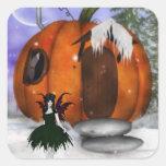 Pegatinas de la hada de Halloween