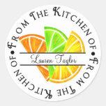 Pegatinas de la hornada de la cocina de la fruta c
