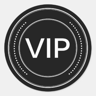Pegatinas de la insignia del VIP Pegatina Redonda