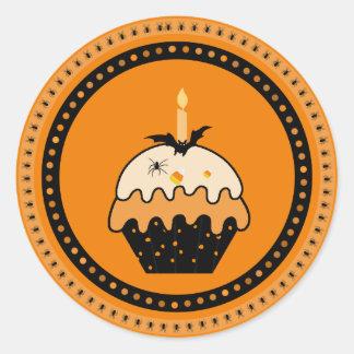 Pegatinas de la magdalena de Halloween