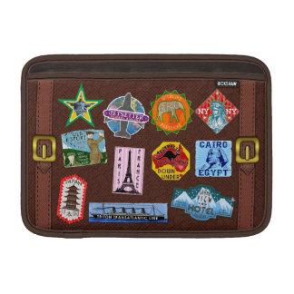 Pegatinas de la maleta del World Travel del Funda Para Macbook Air