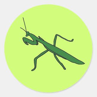 Pegatinas de la mantis religiosa