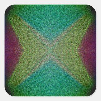 Pegatinas de la mariposa del Matemáticas-ARTE