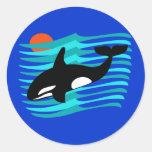 Pegatinas de la orca