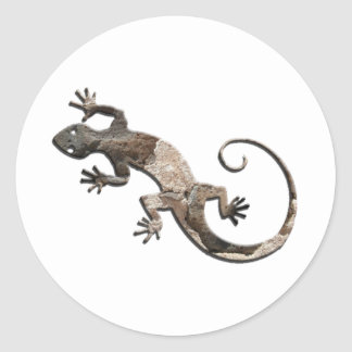 Pegatinas de la pared de piedra del Gecko