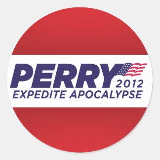 Pegatinas de la parodia de Rick Perry