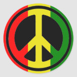 Pegatinas de la paz de Rasta