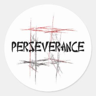 Pegatinas de la perseverencia