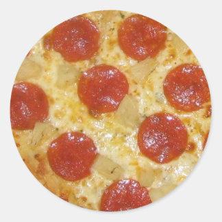 Pegatinas de la pizza - personalizar