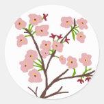Pegatinas de las flores de cerezo