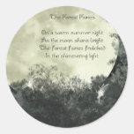 Pegatinas de las hadas del bosque