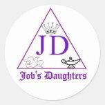 Pegatinas de las hijas del trabajo