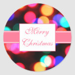 Pegatinas de las luces de navidad