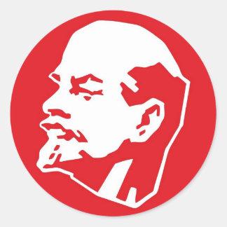 Pegatinas de Lenin Pegatina Redonda